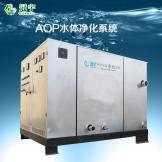 AOP水体净化系统侧面