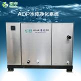 AOP水体净化系统正面